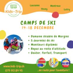 Camp de ski enfants decembre