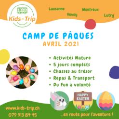 Camp de Päques 2021 Enfants Nature