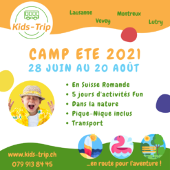 Camp été enfants, summer camp kids