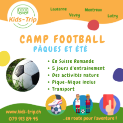 Camp football enfant vaud suisse