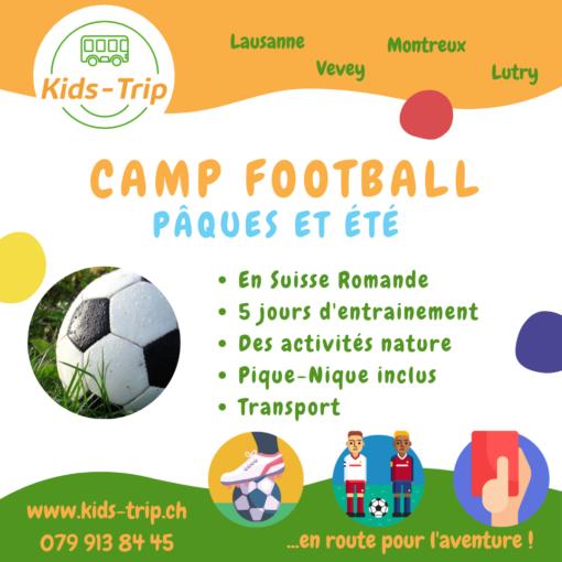 Camp football enfant vaud suisse